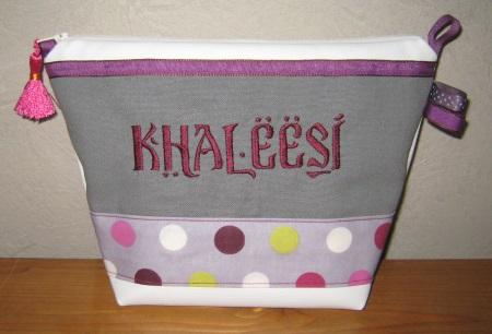 trousse de toilette kahleesi games of thrones